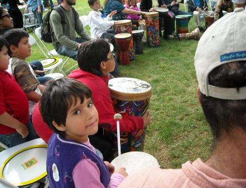 """One People–One Rhythm"" Drummm Circle Unites Participants at Jewish Heritage Festival"