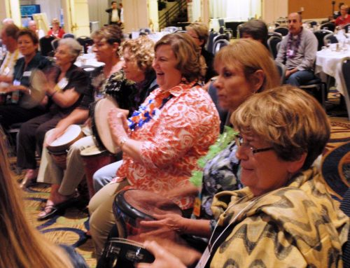 Drumming for Wellness at Alpha 1 National Conference