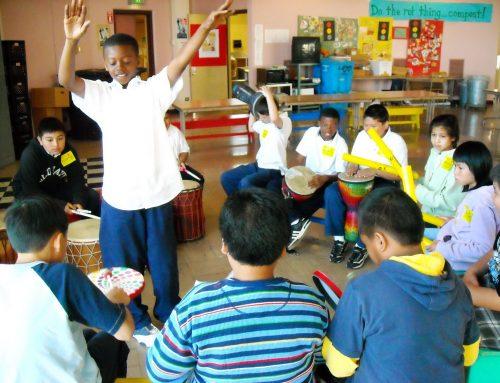 EVENT: Drummm workshop brings rhythm facilitation to music educators (02/23/10)