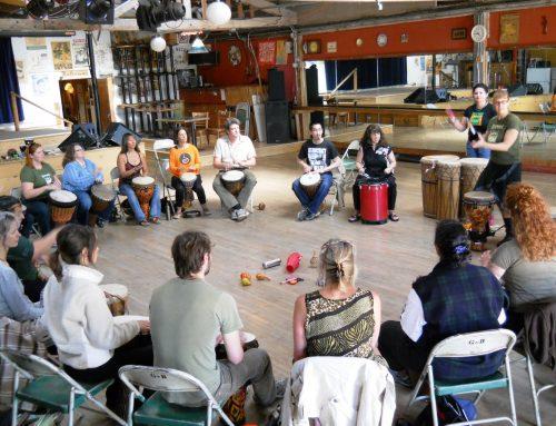 Monthly East Bay Drummm Circle Gathers Community in Rhythm!