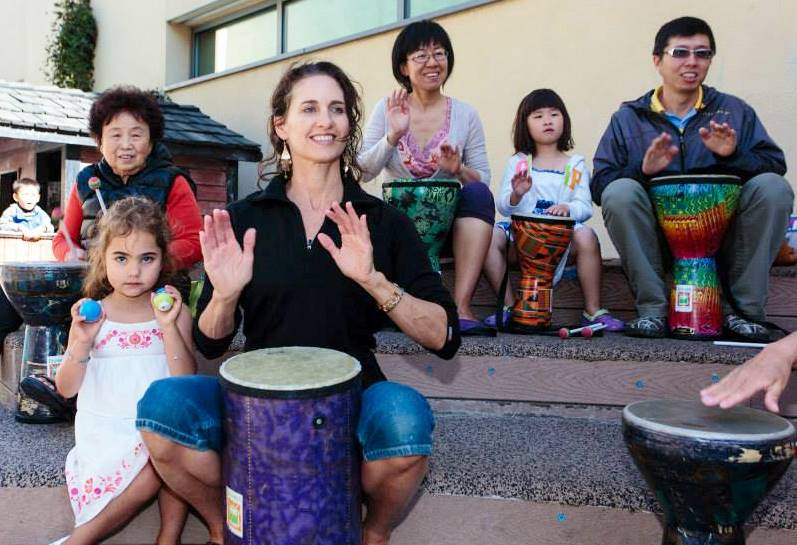Family-drummm-circle-@-JCCSF-2014-2