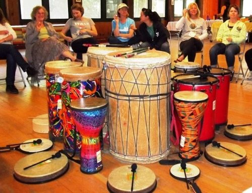 UNIVERSAL DRUMMING 6-class spring session starts April 23, 2016