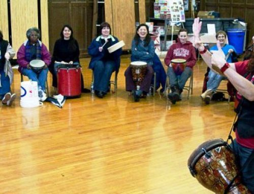 Stanford Live presents free DRUMMM workshop for teachers on 3/27/19