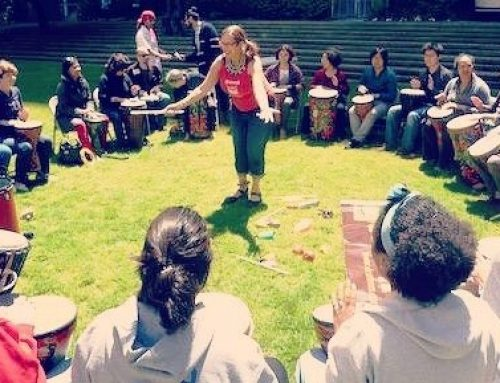 "NEW! FREE! Monthly ""2nd Mondays"" S.F. Drummm Circle @ Salesforce Park"