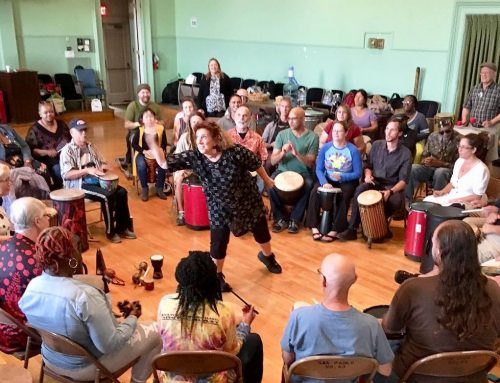 Introduction to Drum Circle Facilitation Workshop – February 8, 2020