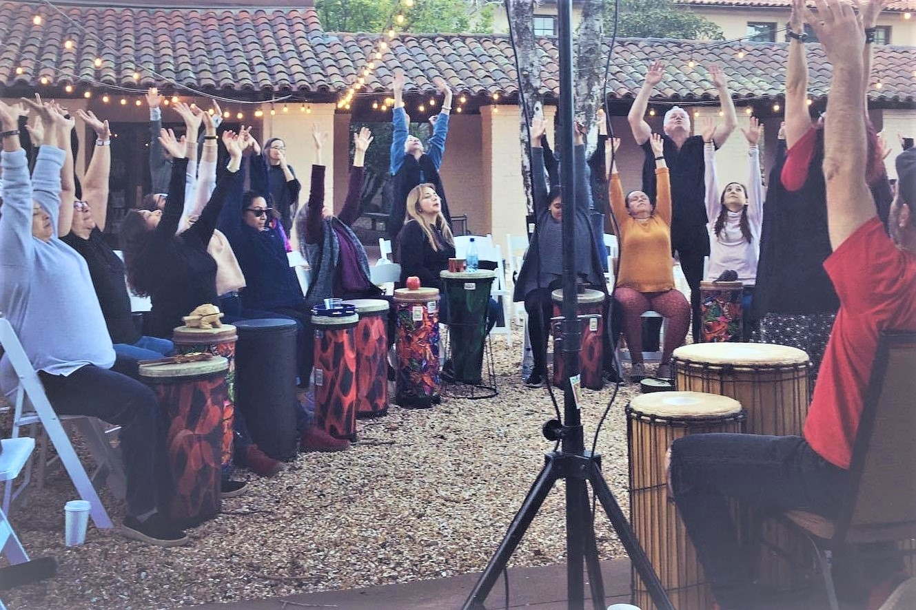 Napa Retreat Drumming Workshops For Team Building